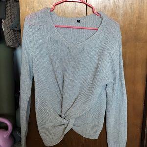 Sweaters - European tie shirt